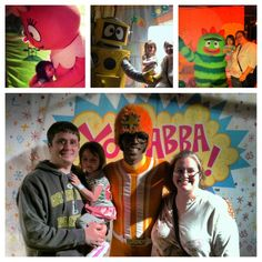 Indulge your child in a Yo Gabba Gabba Party Package Experience with Yo Gabba Gabba Live. #YesMemory