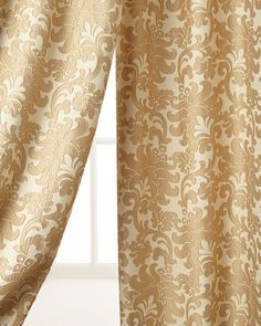 "Two 52""W x 96""L Florence Curtains by Austin Horn Classics at Neiman Marcus."