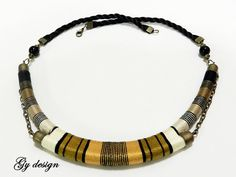 Reserved  for Simona Sylenteri statement necklace by Gydesi, $34.00