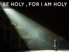 Be Holy? You Betcha!