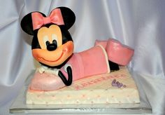 3D Minnie mouse