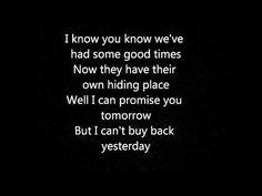 Bon jovi - i'll be there for you lyrics - YouTube