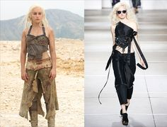 Game of Thrones and Khaleesi's Fashion Influence on the Runways - Vogue