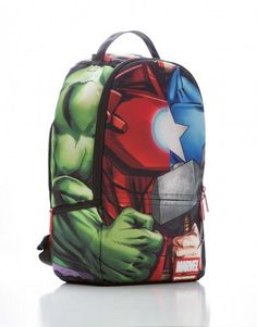 Marvel Avengers Collage Backpack | Sprayground Backpacks, Bags, and Accessories