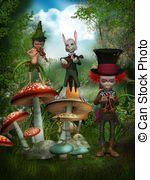 Mushroom illustrations and clipart