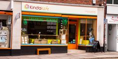KindaKafe in Norwich. A place where you can get a vegan meal, great cup of coffee or tea with homemade cake.