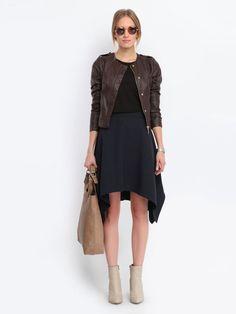 Asymetryczna spódnica #topsecret