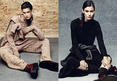 Vogue Russia September 2014, Ophelie Guillermand by Jason Kibbler