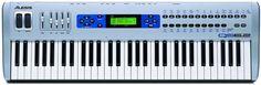 Alesis QS6.2 61 Key Professional Performance Synthesizer Keyboard