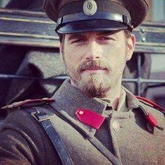 Kivanc Tatlıtuğ as Kurt Seyit Eminof in the Turkish TV series Kurt Seyit ve Sura. 2014