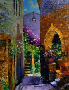 Florals of Eze 2006 by Howard Behrens