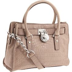 Gorgeous & classy MK bag.  Really. Want. This.