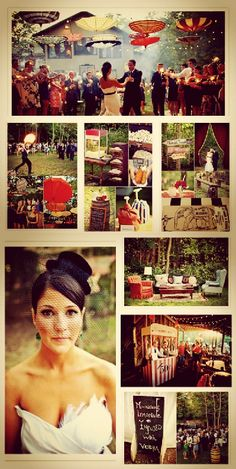 Colors, vintage, fire eaters, popcorn and a lot of DIY creates a beautiful circus-themed wedding!  - Photo capturing by Gabriel Ryan Photographers