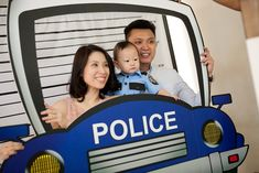 Chase's Cops and Robbers Themed Party – Photo Booth Props