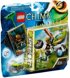 LEGO Legends Of CHIMA 70103 Speedorz Boulder Bowling NEW Factory Sealed $33.90