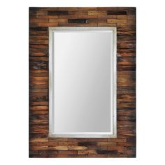 Shop for Ren Wil Renwil Pretoria Natural Wood Mirror. Get free shipping at…