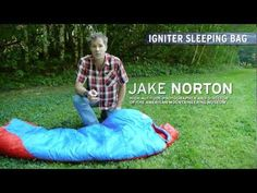 First Ascent Igniter Synthetic Insulation Sleeping Bag.  I'm not down with down.