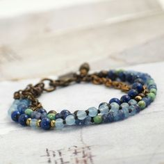 Feeling blue? Lapis and agate can help with that!