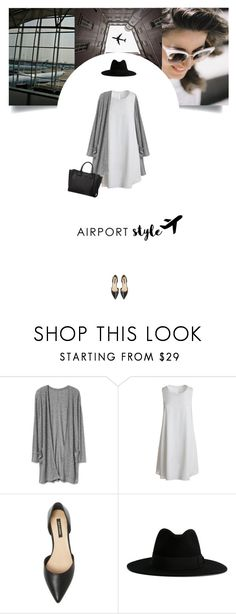 """Untitled #298"" by soledestate ❤ liked on Polyvore featuring Sans Souci, Ava & Aiden, Yves Saint Laurent, Karl Lagerfeld and airportstyle"