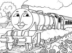Thomas The Tank Engine Coloring Pages - http://fullcoloring.com ...