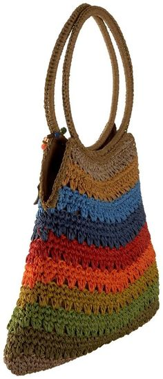 "New Cheap Bags. The location where building and construction meets style, beaded crochet is the act of using beads to decorate crocheted products. ""Crochet"" is derived fro Crochet Clutch, Crochet Handbags, Crochet Purses, Crochet Bags, Crochet Shell Stitch, Bead Crochet, Love Crochet, Hand Knit Bag, Handmade Purses"