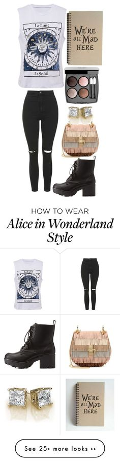 """""""#SUPERGIRLS"""" by slayitfangirls on Polyvore featuring Topshop, Charlotte Russe, Chloé and Chanel"""