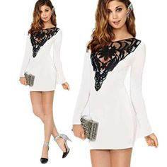 Womens Trendy Spring Hip Lace Dress