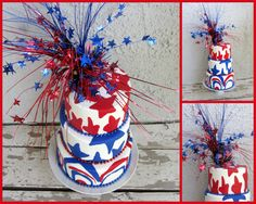 4th of #July #Flag #Cake