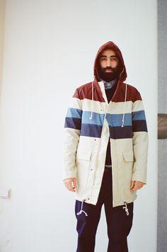 Striped Summer Coat