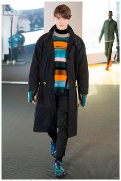 Kenzo Fall/Winter 2015 Menswear Collection Inspired by Stylish Survivor