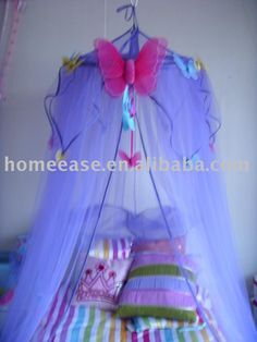 Princess mosquito net / Kids butterfly bed canopy