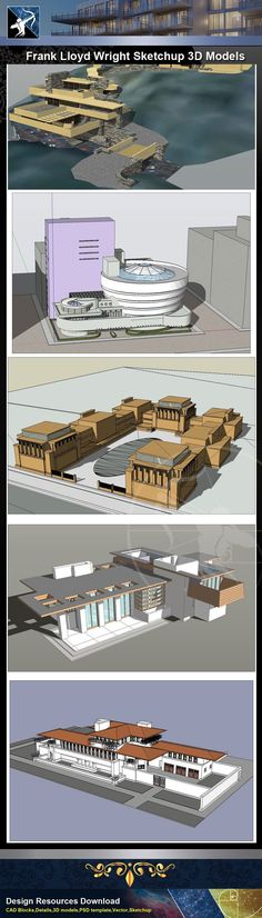 39 best famous architecture sketchup 3d models images 3d design rh pinterest com