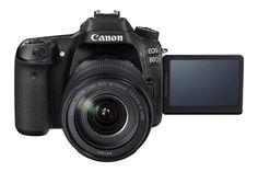 Cannon Introduced EOS 80D with 24.2 MP CMOS Sensor, DIGIC 6 Processor