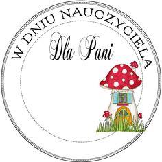 Dzień nauczyciela Diy Cards, Quilling, Decorative Plates, Preschool, Mandala, Scrapbooking, Printables, Teacher, Education