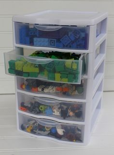 Lego Organization. Have a feeling I should pin this now for later!