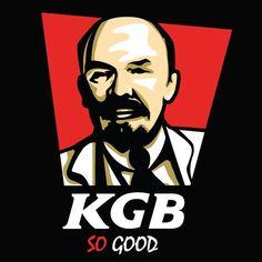 t- shirt KFC | t-shirt communisme | t shirt lenine | t shirt geek T Shirt Geek, Coton Bio, Kfc, Creations, Tee Shirts, Geek Stuff, Funny, Movie Posters, Fictional Characters