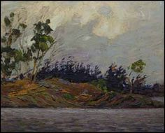 'Early Morning, Georgian Bay' by Tom Thomson at Mayberry Fine Art