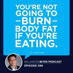 In this week's Balanced Bites podcast, Diane discusses fasting, its benefits, who shouldn't fast, & how to tell if we're really hungry with Dr. Fitness Motivation Quotes, Weight Loss Motivation, Fast Weight Loss, Weight Loss Tips, Dr Jason Fung, Guide To Fasting, Fast Quotes, The Obesity Code, Water Fasting