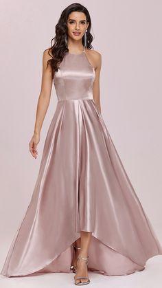 Women's A Line Dresses, Cheap Maxi Dresses, Gala Dresses, Satin Dresses, Formal Dresses, Mini Dress Formal, Gorgeous Prom Dresses, Dresses To Wear To A Wedding, Pretty Dresses