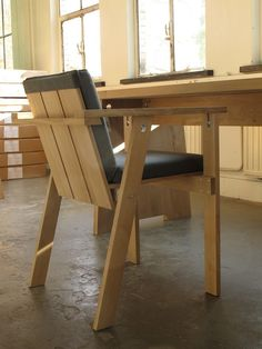 Piet Hein Eek Chair & Table- The Society inc. by Sibella Court