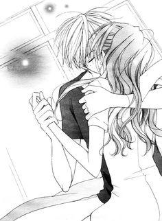 Faster than a Kiss Manga - Kaji and Kazuma kissed but Kaji has her nurse mouth cover on lol