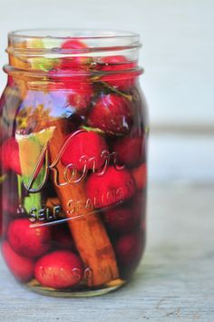 How to Make Fresh Cherry and Cinnamon Infused Rum