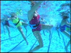 I search the internet find inspiration for my sessions in aqua fitness. This is a great site. WaterGym- founded by Susanne Paynovich- http://watergym.com/