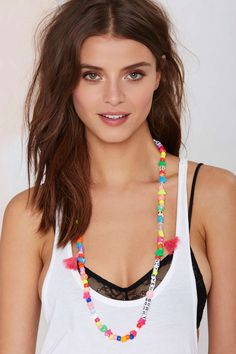 Word Up Beaded Necklace | Shop Accessories at Nasty Gal!