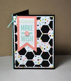 A Hexagon Hive card - Stampin' Connection