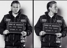 Photo of Final Season Mugshot for fans of Sons Of Anarchy. Season 7 premieres September 9th 2014.