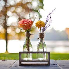 Simple Flower Decor | Jacqueline Patton Photography | TheKnot.com