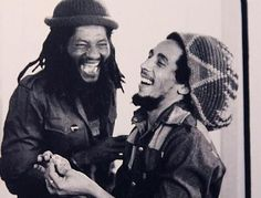 """Bob Marley with Alvin """"Seeco"""" Patterson (Francisco Willie)"""