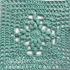 Transcendent Crochet a Solid Granny Square Ideas. Inconceivable Crochet a Solid Granny Square Ideas. Point Granny Au Crochet, Crochet Squares Afghan, Crochet Motifs, Crochet Blocks, Granny Square Crochet Pattern, Crochet Chart, Crochet Stitches, Crochet Patterns, Knit Crochet