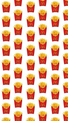 Mcdonalds French Fries iPhone 6 / 6 Plus wallpaper